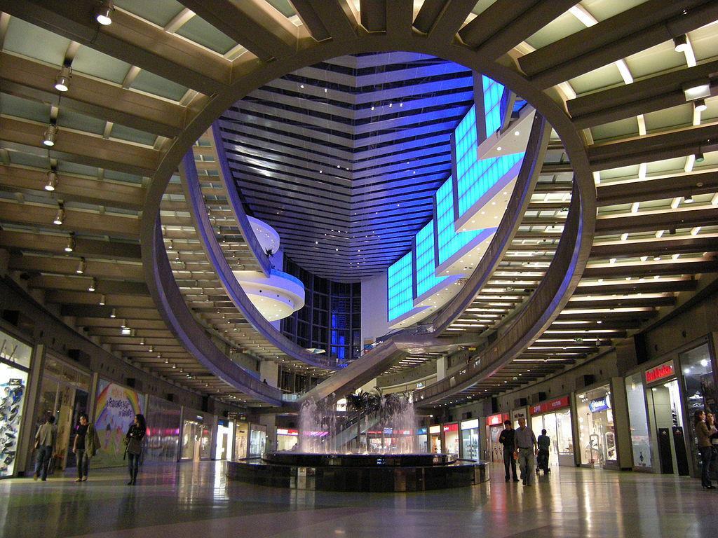 Vista panorâmica do Dolce Vita Porto, que agora se chamará Alameda Shop & Spot.