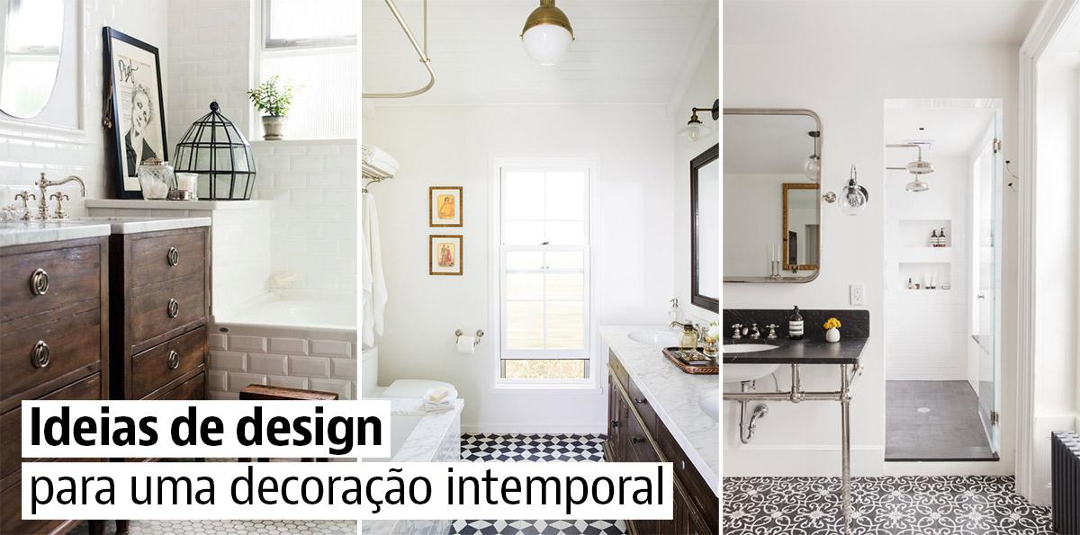 Como reformar uma casa de banho com um estilo que não passe de moda