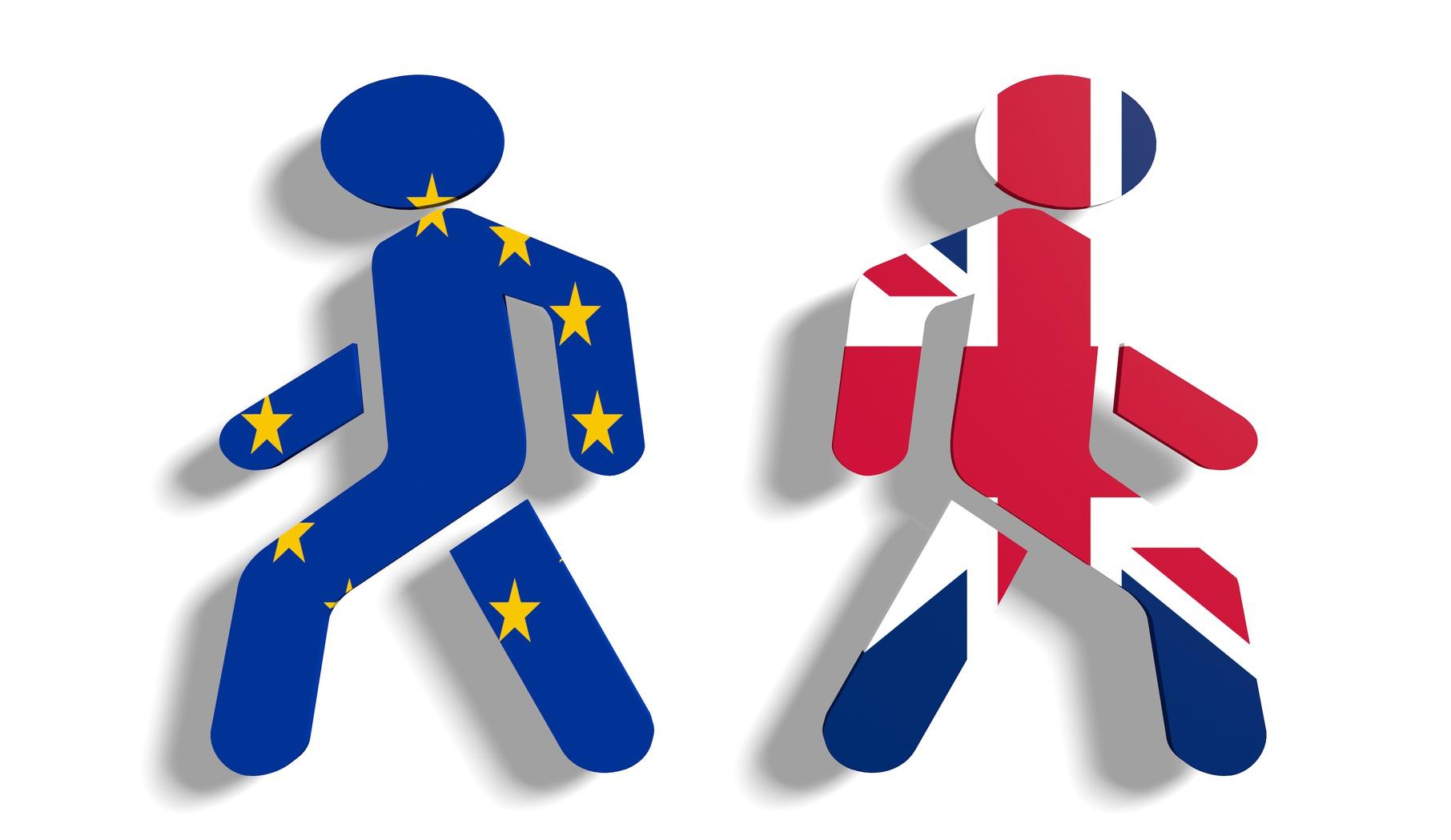 Imagem simbólica do Brexit de Alex Edmans