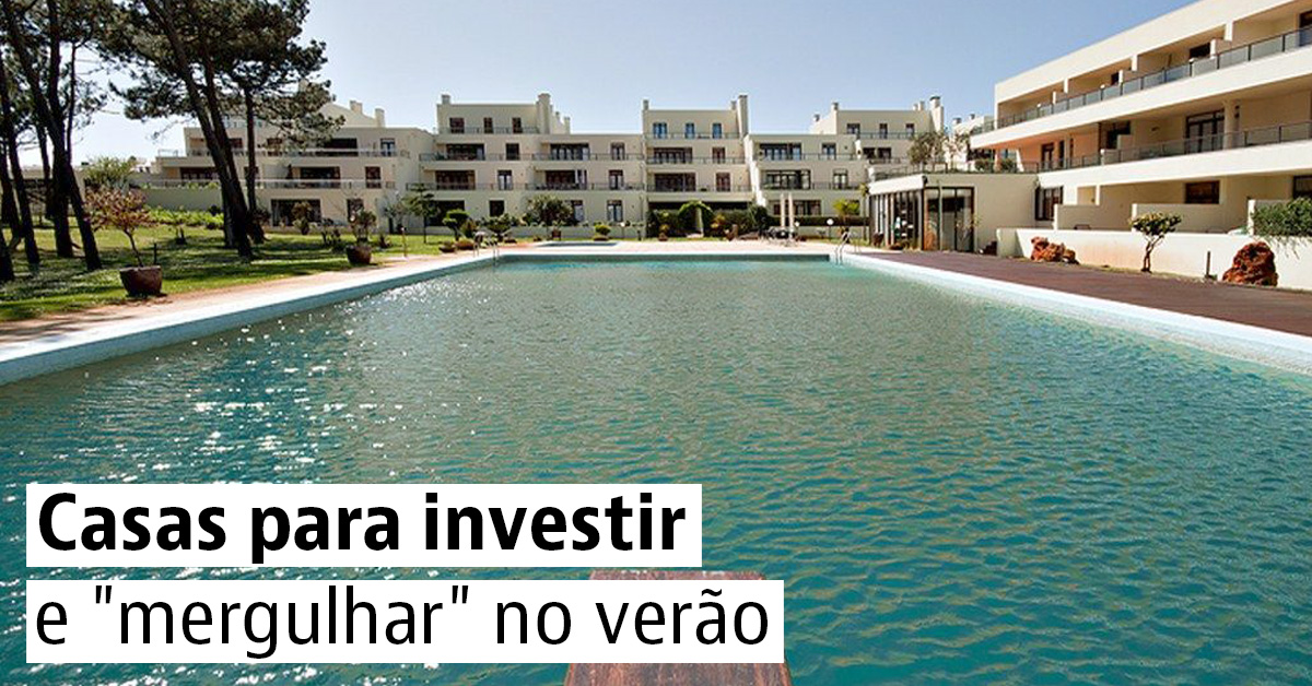 Casas para investir e mergulhar no verão