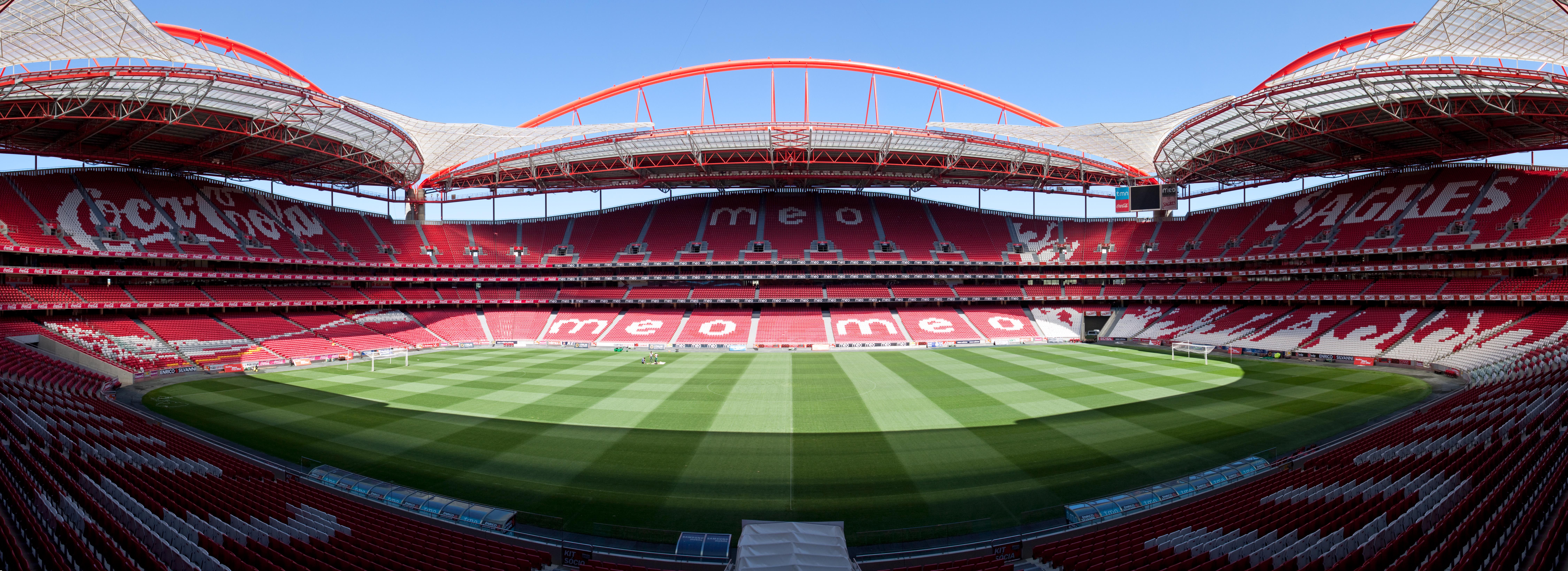 Estádio da Luz entre 73 locais que se podem visitar