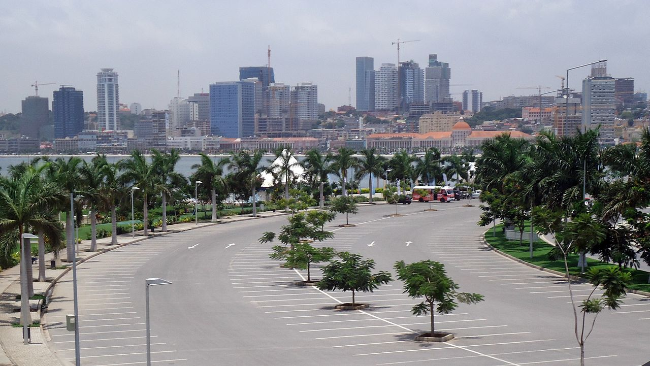 Vista panorâmica de Luanda, capital angolana.