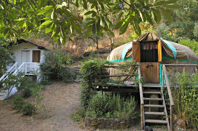 Glamping, acampar com glamour e em sintonia com a natureza... em Portugal
