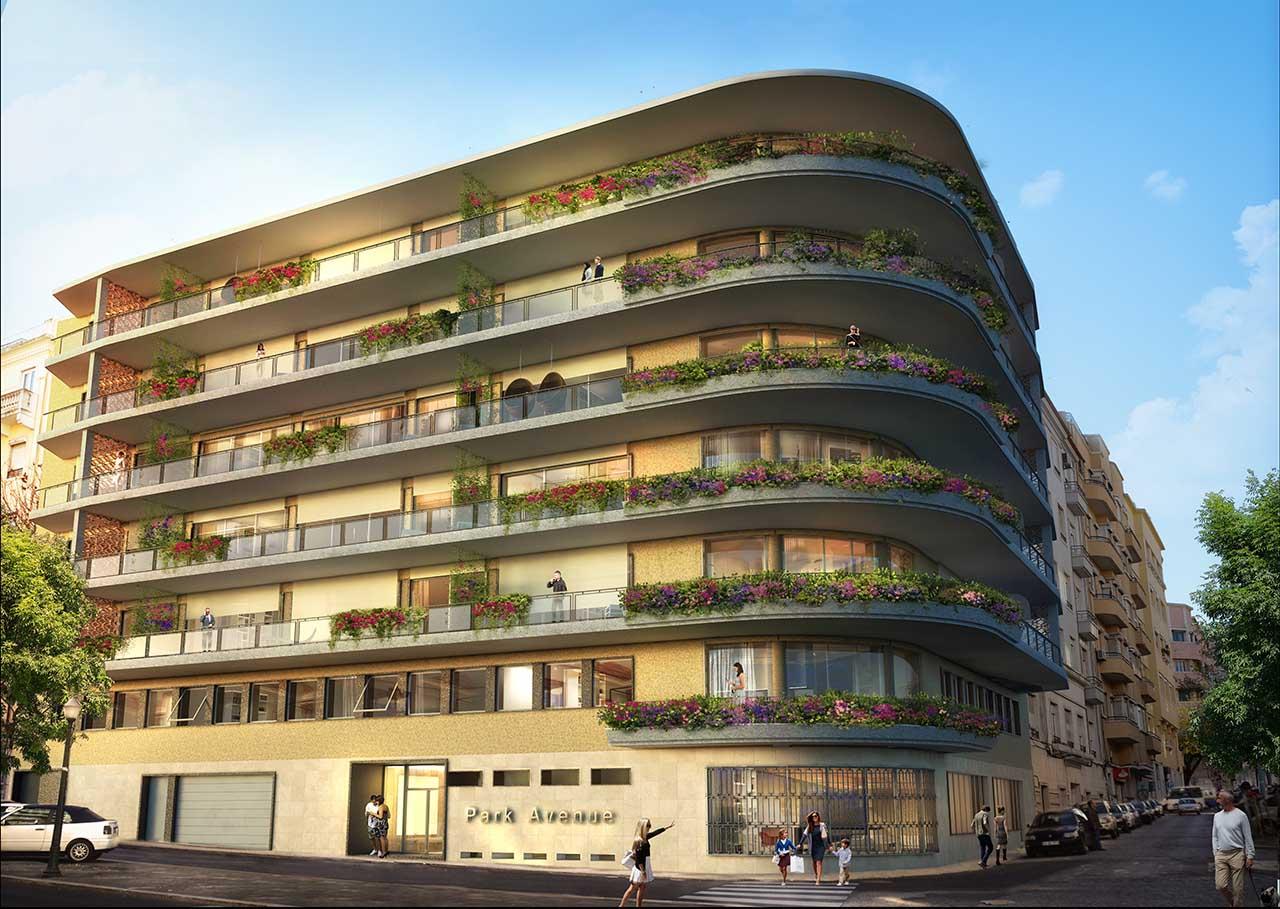 O Park Avenue, rua Padre António Vieira, já tem 70% dos 27 apartamentos vendidos.
