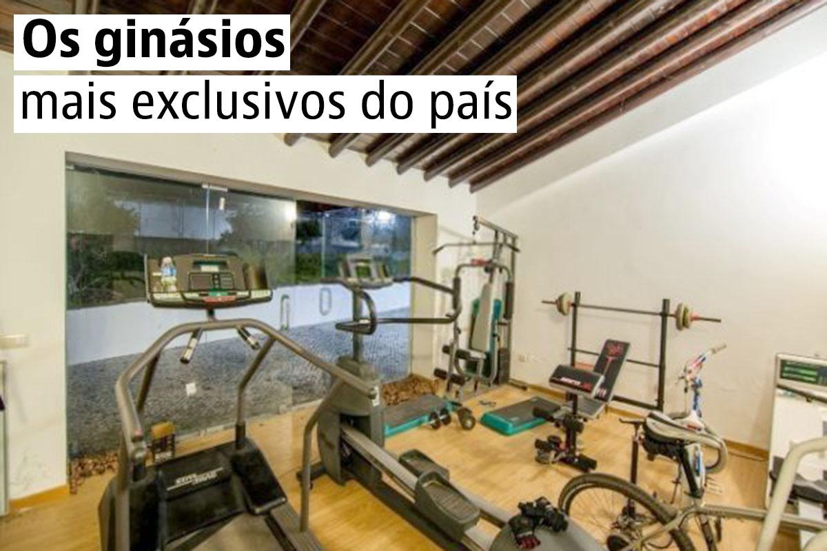 As melhores casas com ginásio