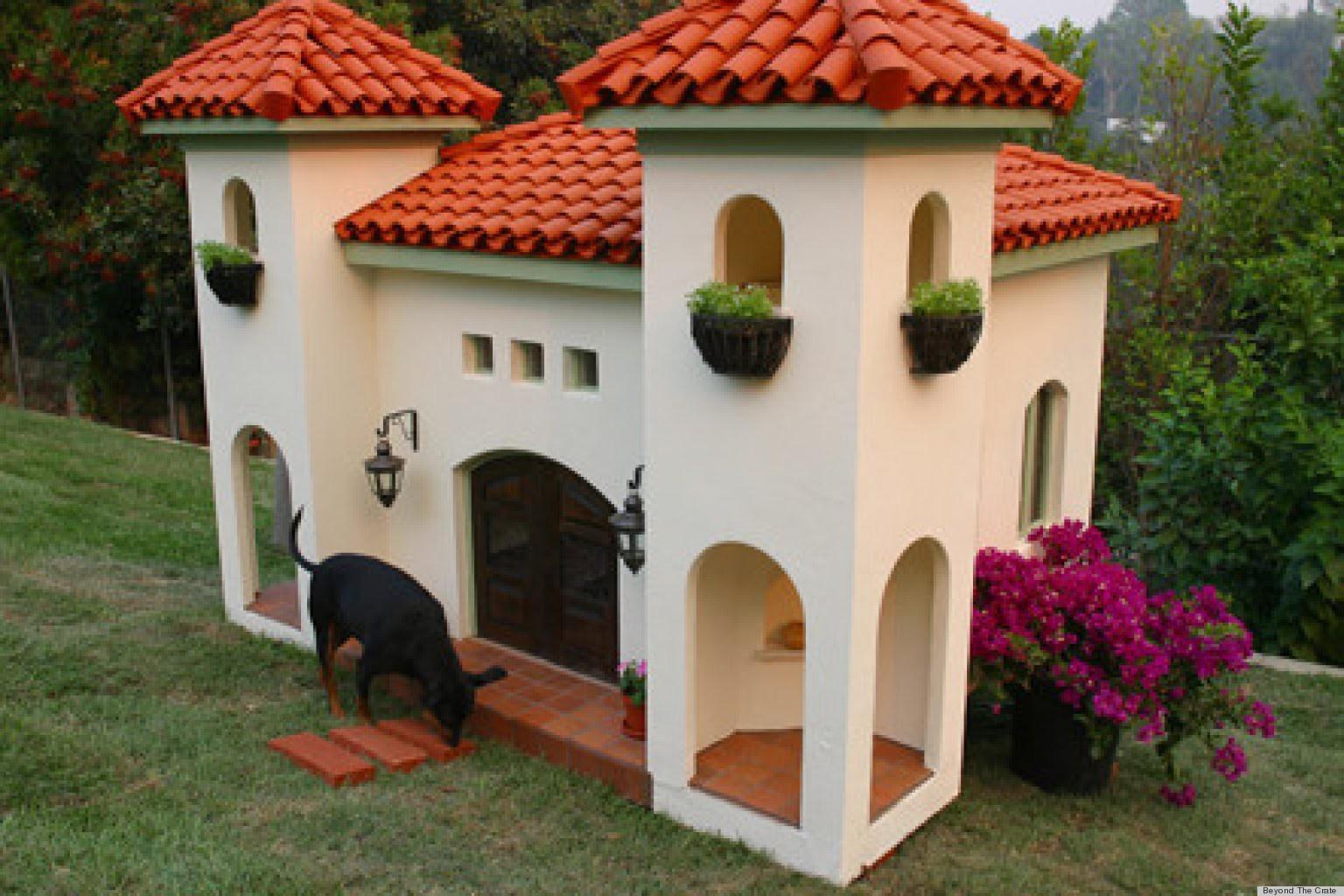 Uma mansão mediterrânea