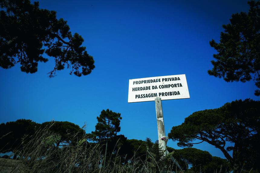Herdade já esteve à venda e está avaliada em cerca de 420 milhões de euros (Foto: Expresso)