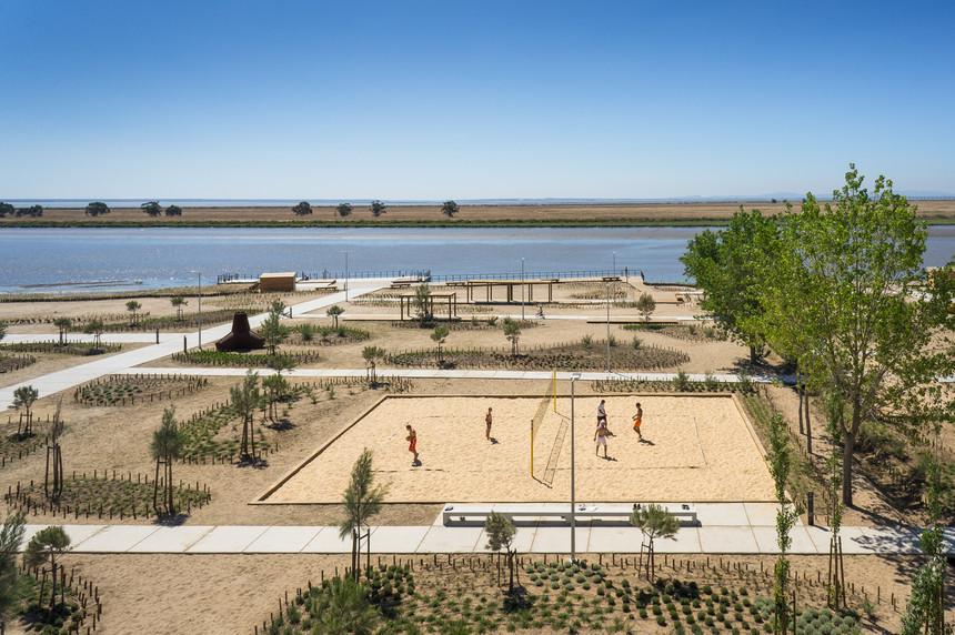 Parque Linear Ribeirinho do Estuário do Tejo está localizado na Póvoa de Santa Iria (Foto: Expresso).