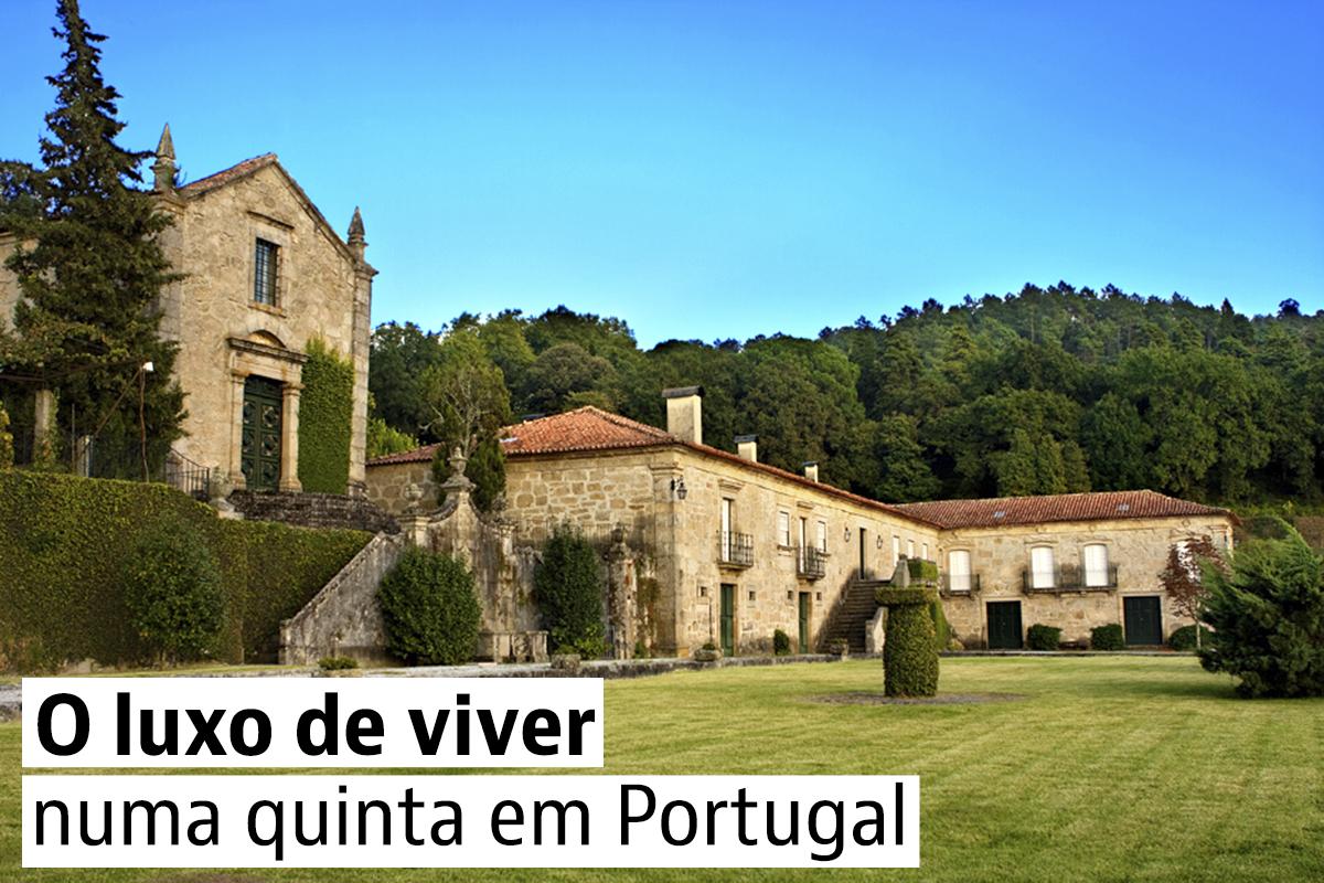 Quintas de luxo em Portugal