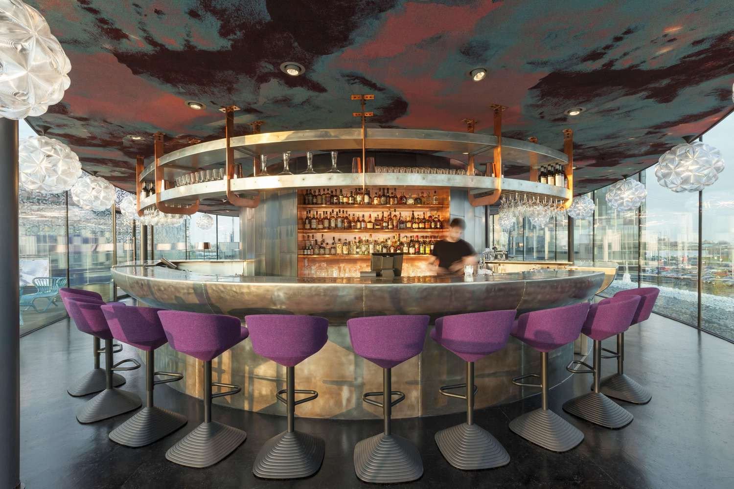 Melhor Bar De Londres: Craft London Bar (Greenwich Peninsula). Projeto:  Design