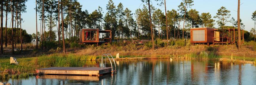 Cocoon Eco Design Lodges. na Comporta.