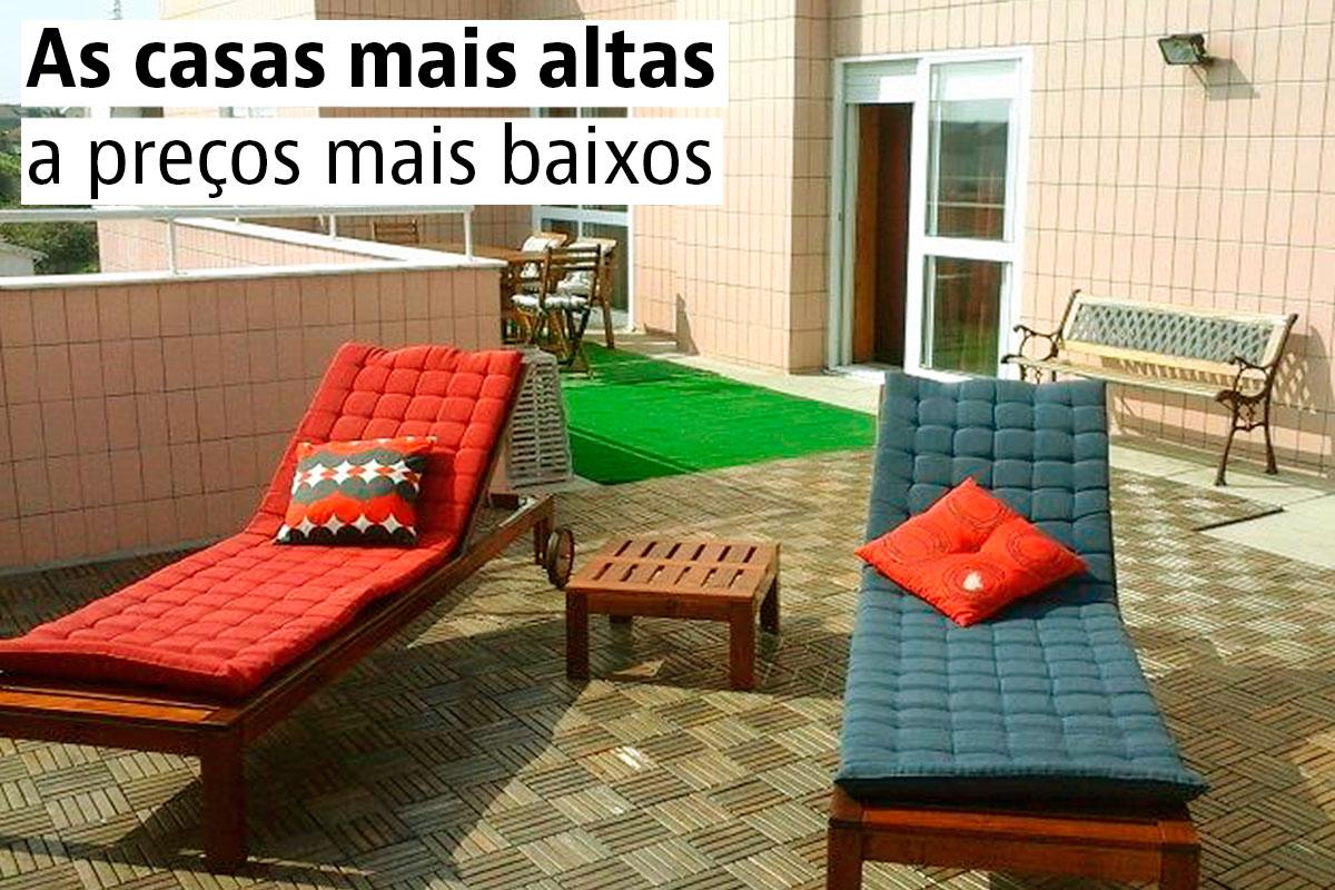 Penthouses a bom preço em Portugal