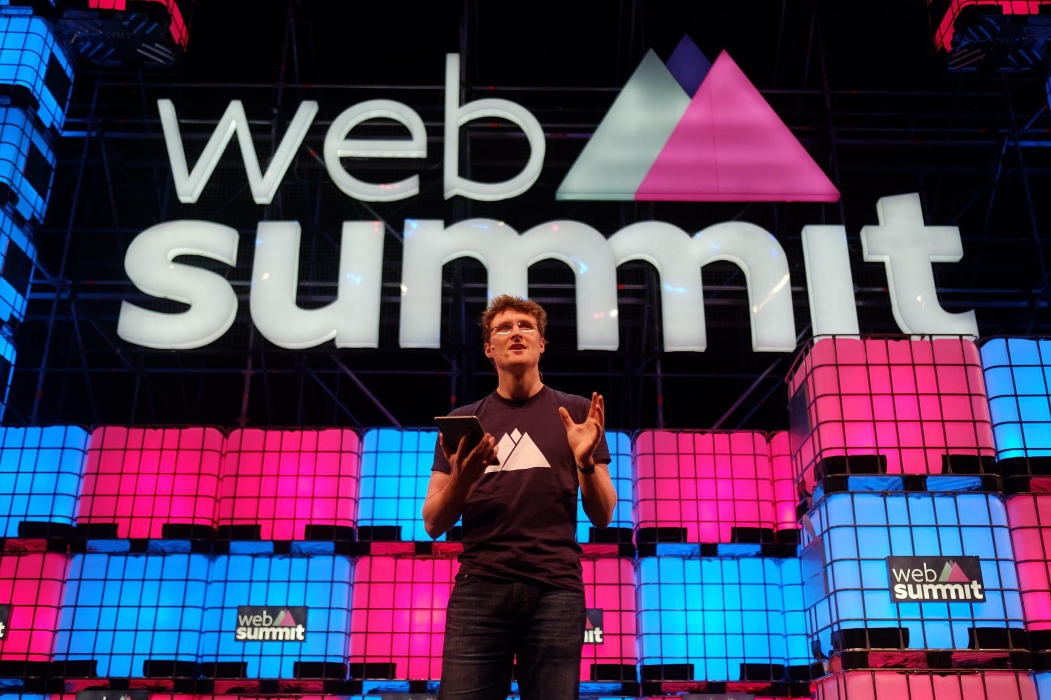 Paddy Cosgrave, cofundador da Web Summit (Foto: Público).