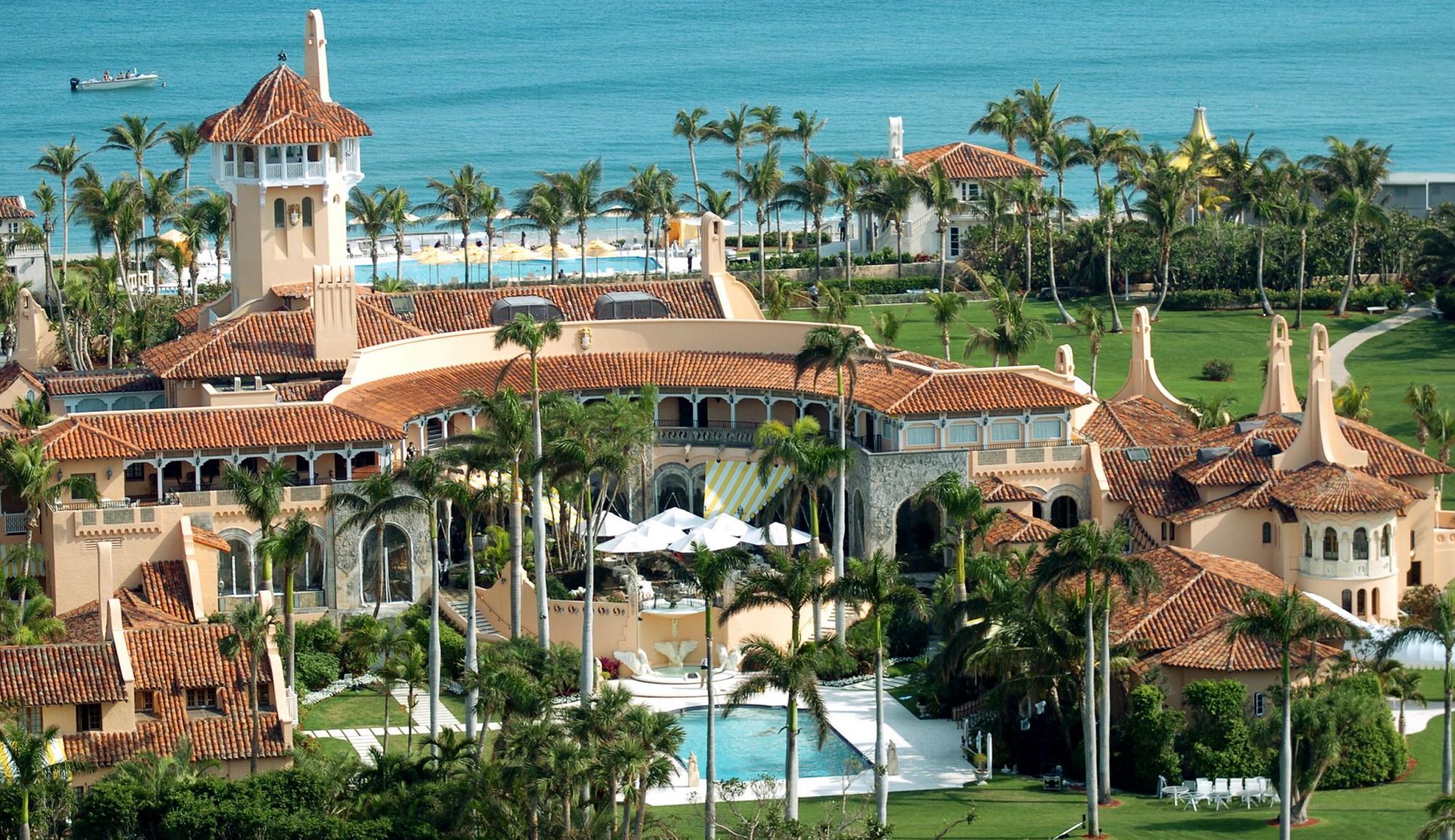 Mansão Mar-a-Largo (Palm Beach) – Valor: 200 milhões de euros