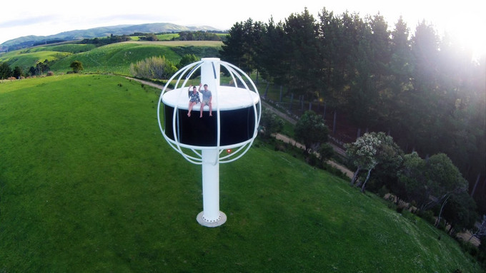 The Skysphere. Nova Zelândia