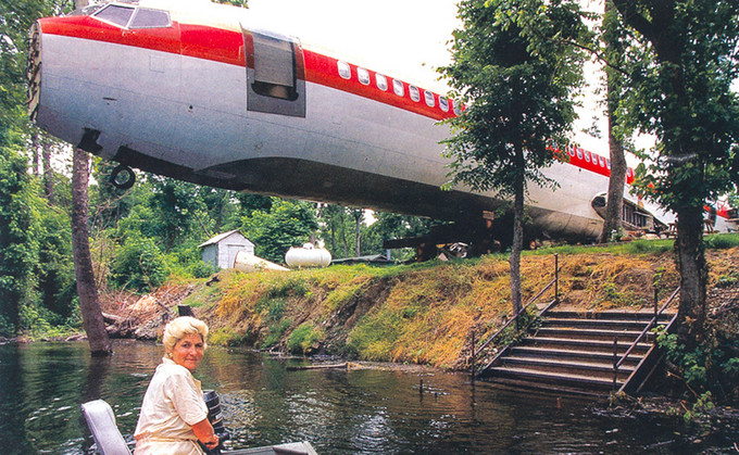 Boing 727. EUA