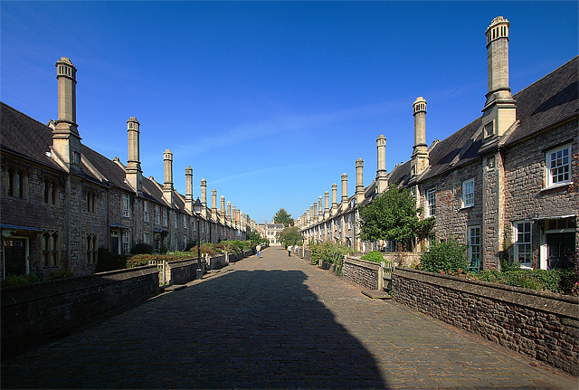 Vicars' Close, Wells, Somerset (Reino Unido). Geograph.org.uk / geograph.org.uk