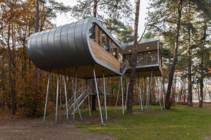 Casa da Árvore. Bélgica