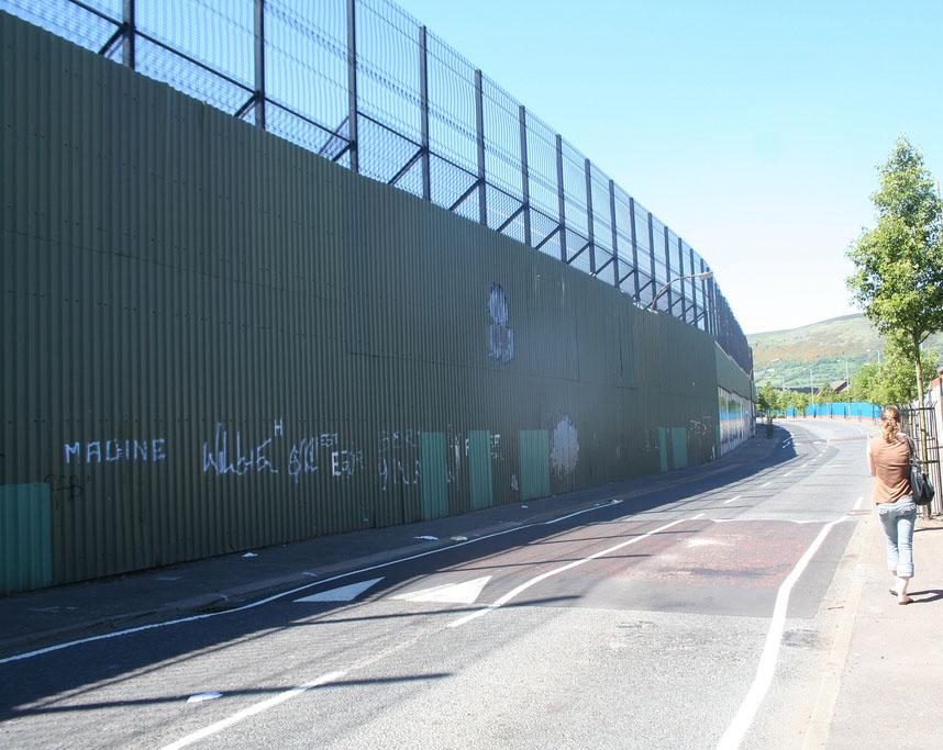 Muro de Belfast (Irlanda)