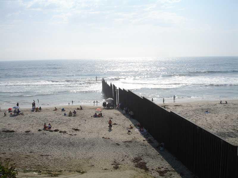 Muro de separação EUA-México