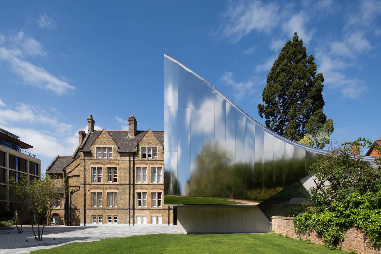 Universidade: Investcorp Building for Oxford University's ME Centre at St Antony's College (Reino Unido). Zaha Hadid Architects