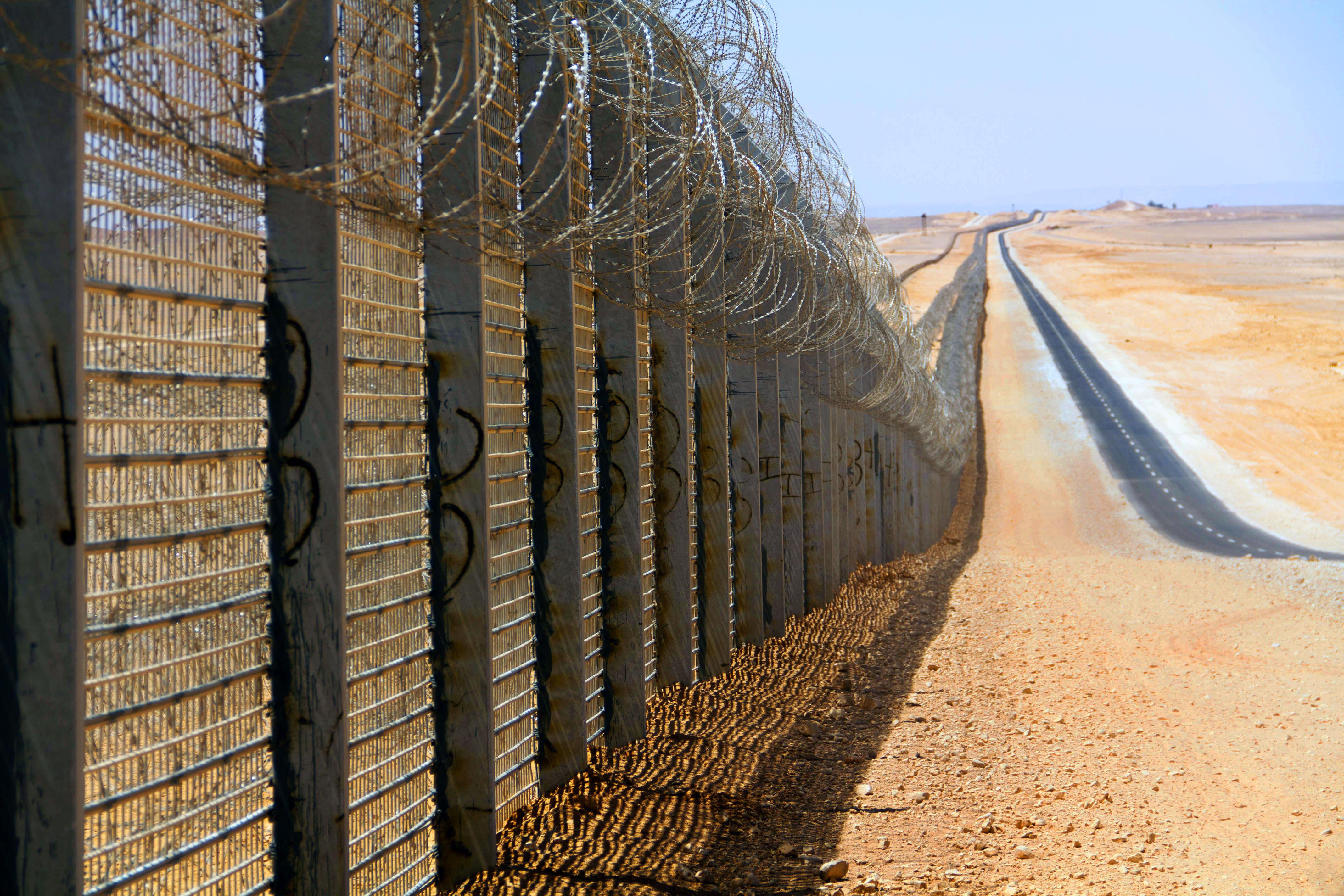 Fronteira entre Israel e Egito