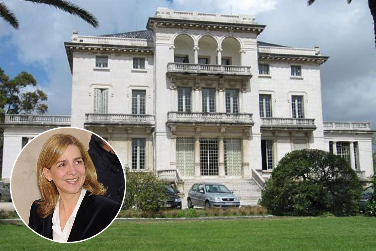 Príncipe Agha Kahn, amigo da família, ofereceu uma ala do palacete que comprou em Lisboa