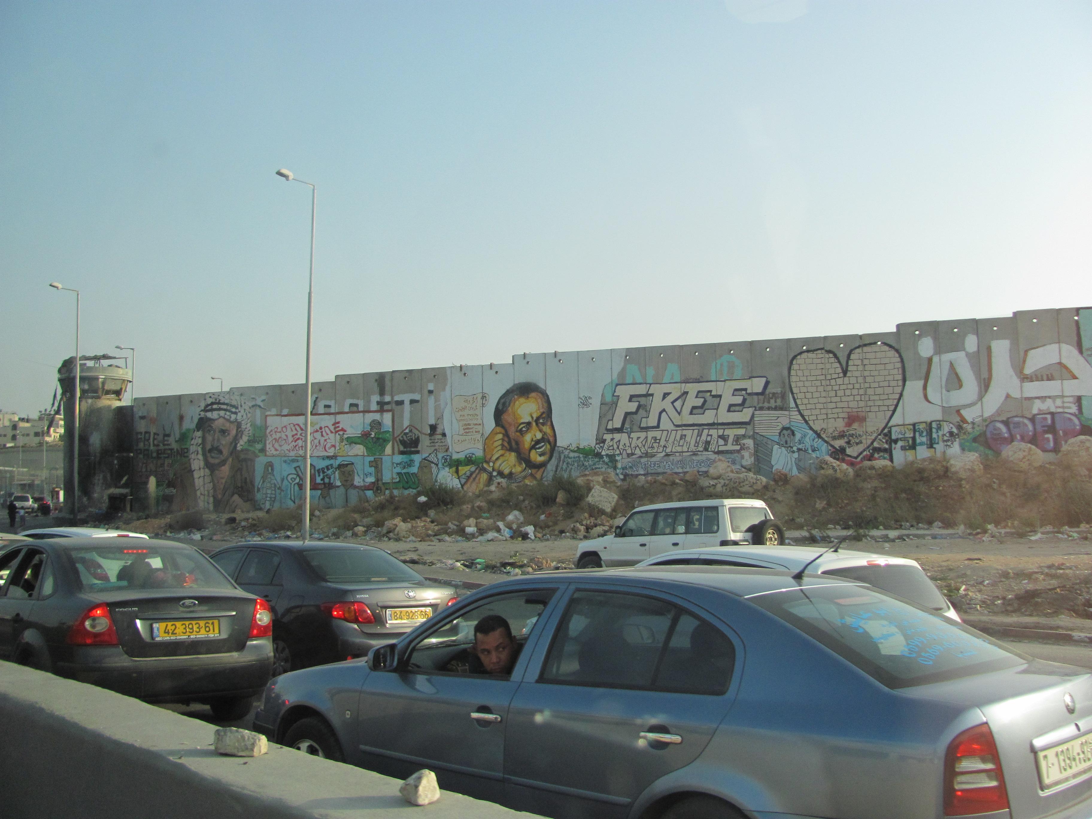 Muro de separação Israel-Palestina