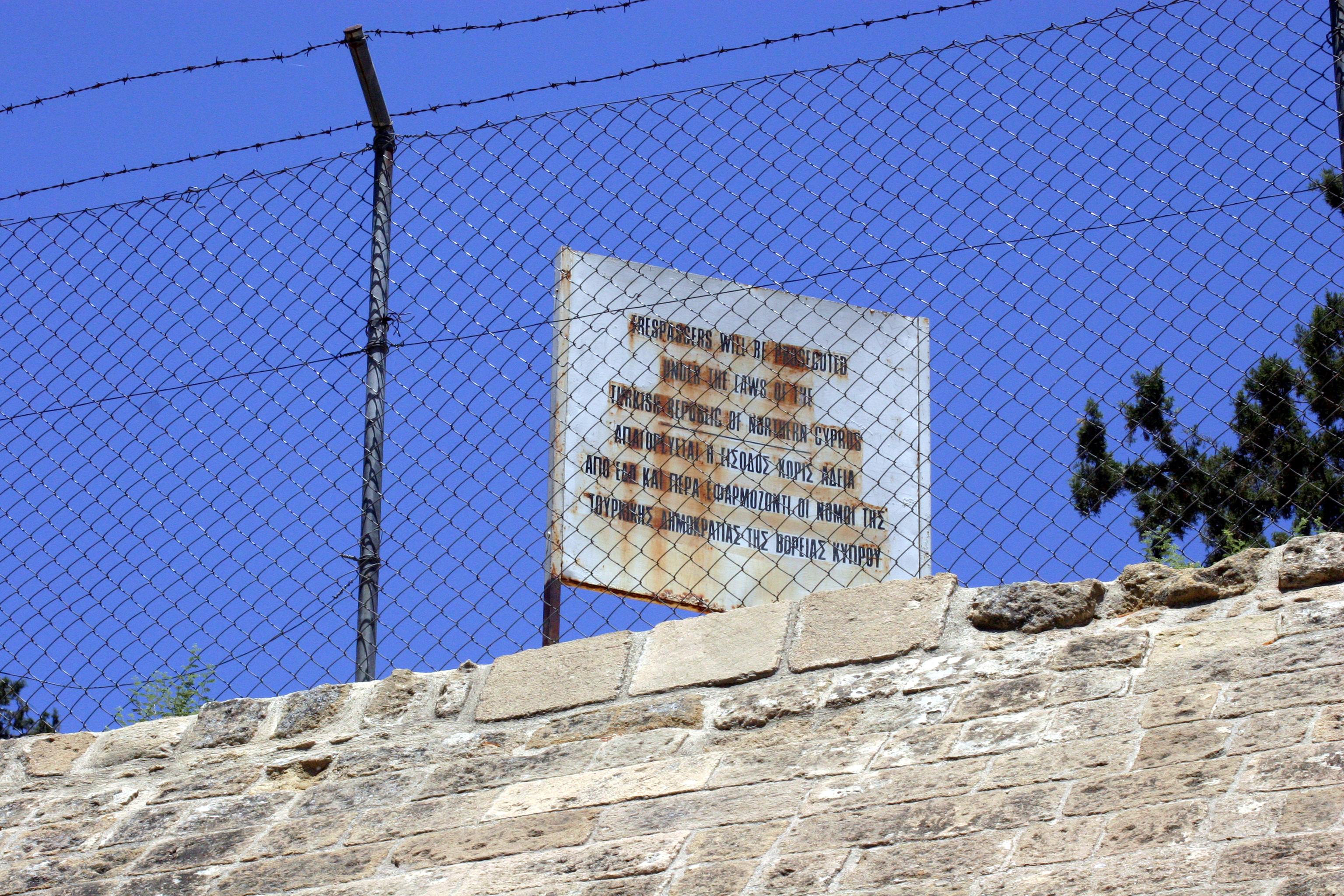 A Linha Verde de Nicósia (Chipre)