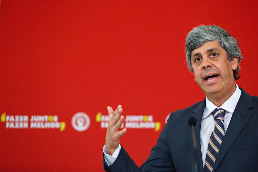 Ministro das Finanças, Mário Centeno, fotografado pelo Expresso