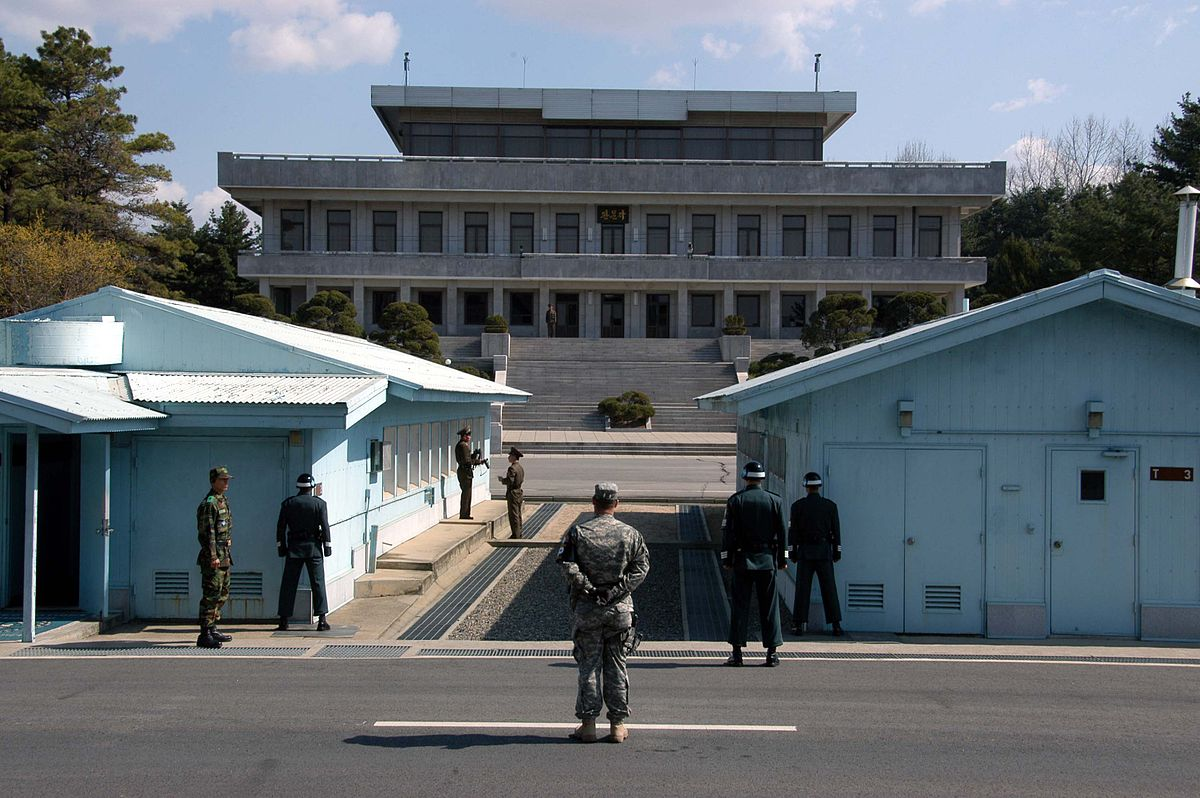 Paralelo 38, separação das duas coreias