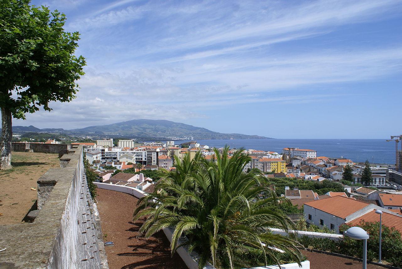 Vista panorâmica sobre Ponta Delgada.