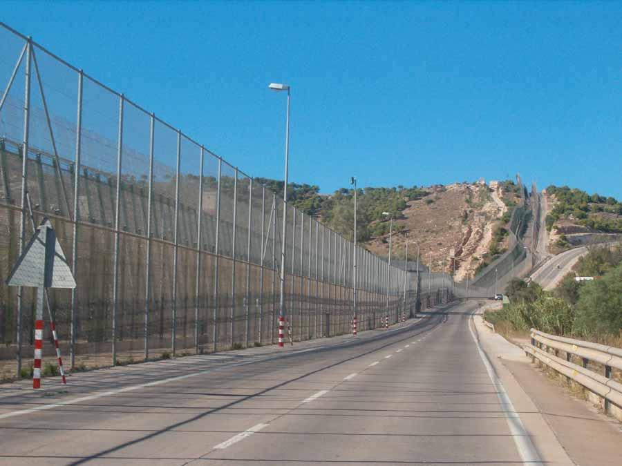 Vedação de Ceuta e Melilla