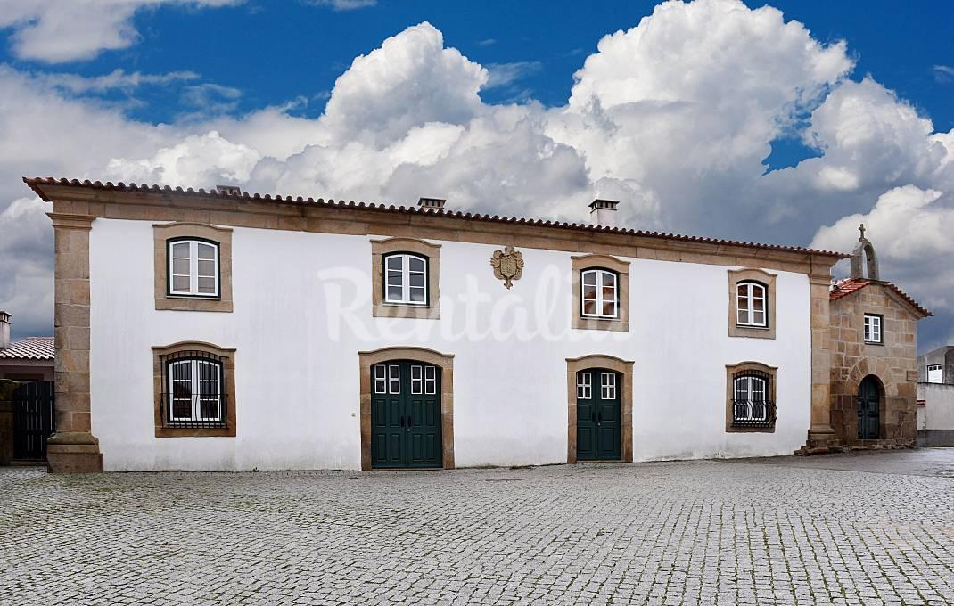 Fachada da Casa da Fidalga.