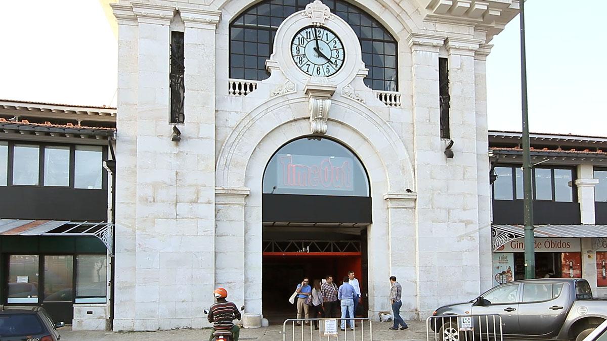 Mercado da Ribeira, no Cais do Sodré, em Lisboa.