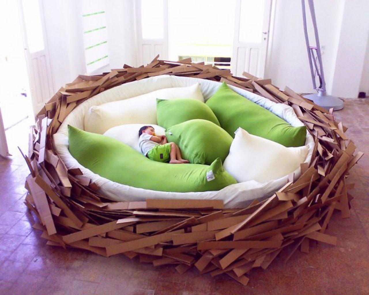 A cama ninho