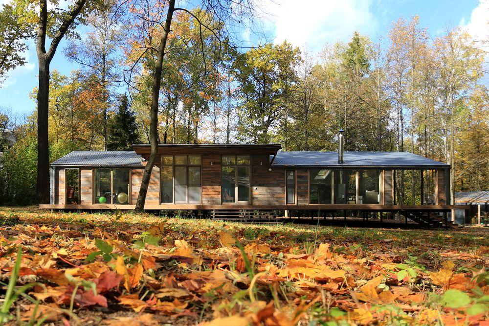 Uma cabana (de luxo) na floresta