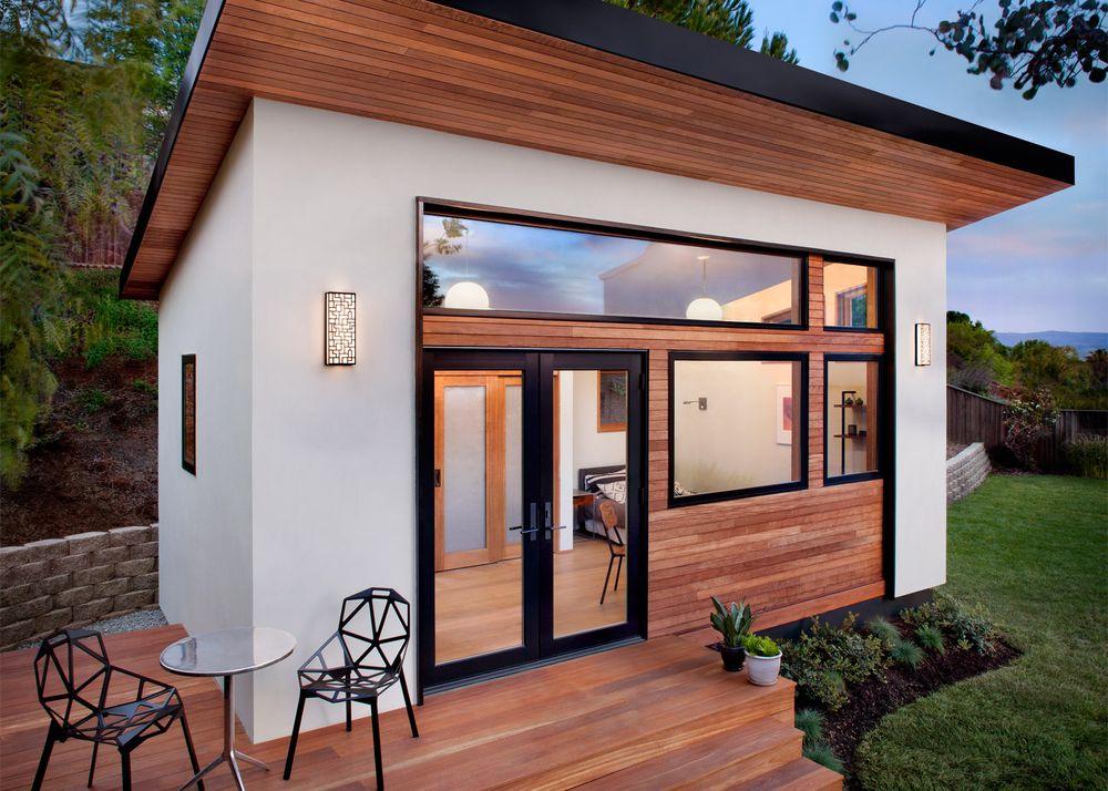 """Uma """"casinha"""" com jardim"""
