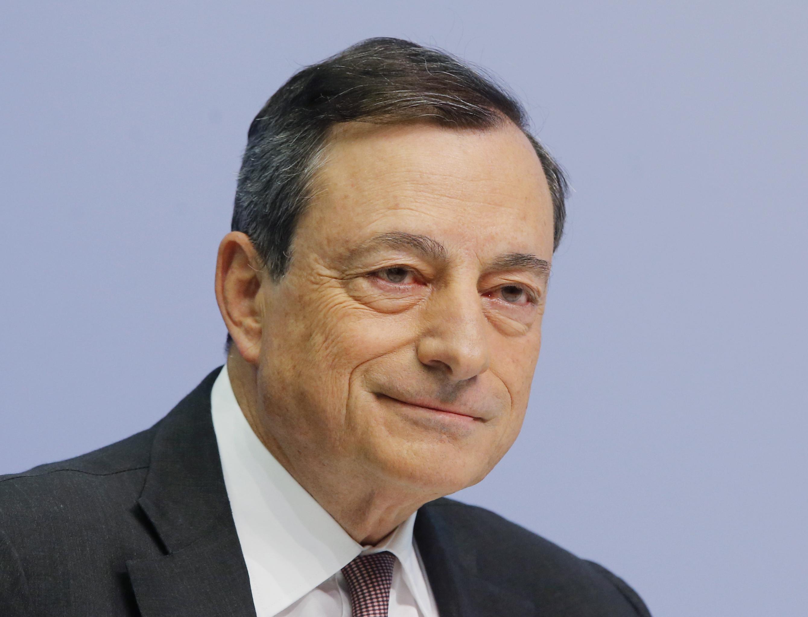 Mario Draghi, presidente do Banco Central Europeu. / Gtres