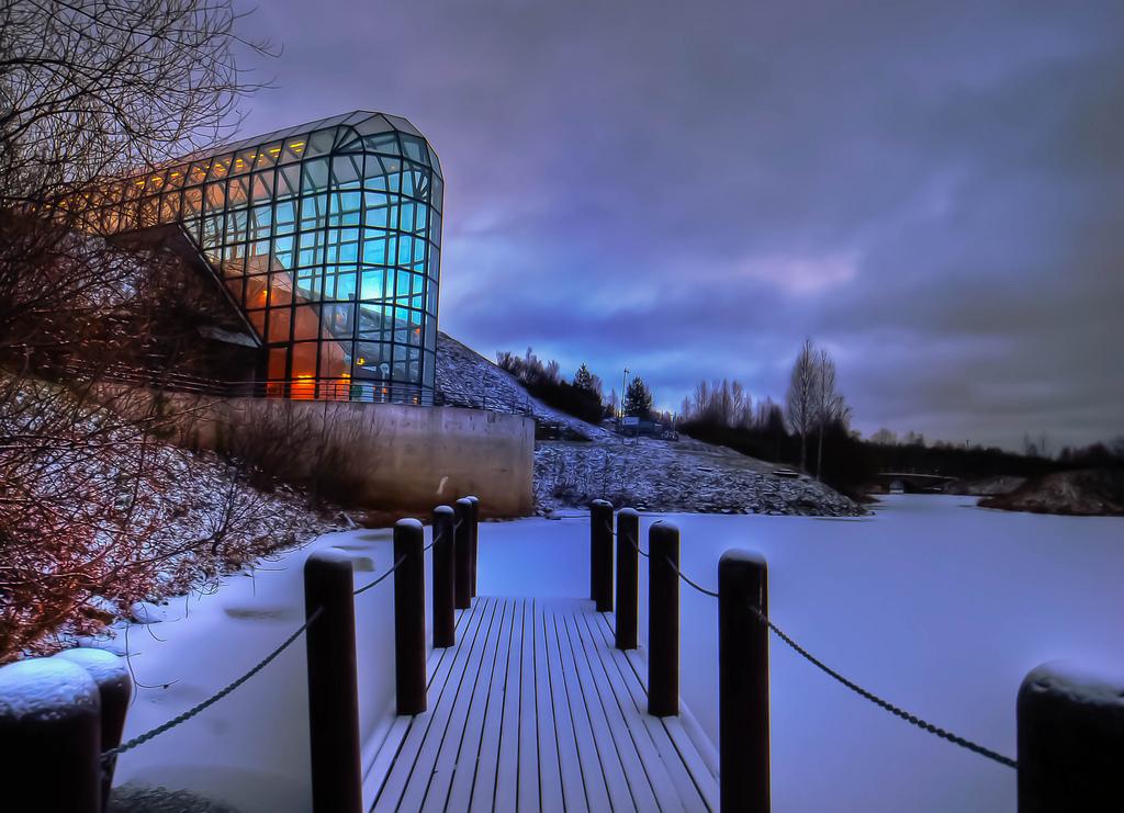 Um museu na Lapónia