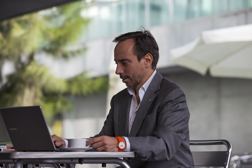 Massimo Forte, consultor e coach especializado na área da mediação imobiliária.