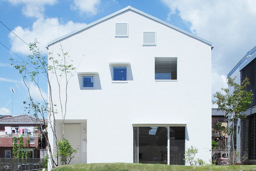 "A ""Casa das Janelas"", projetada por Muji"
