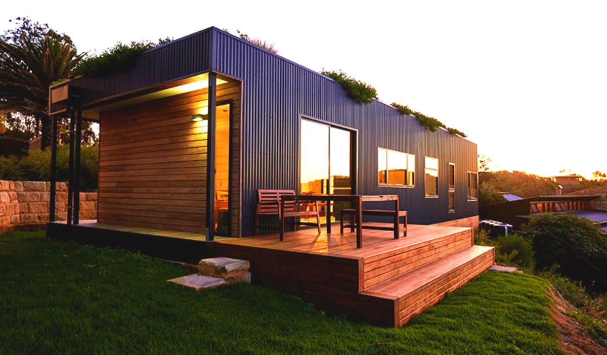 Sete casas pr fabricadas que te v o deixar de boca aberta for Casas prefabricadas pequenas