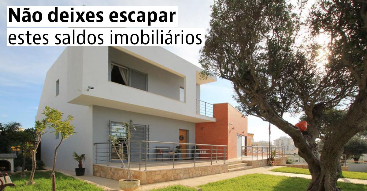 Não deixes escapar estes saldos imobiliários