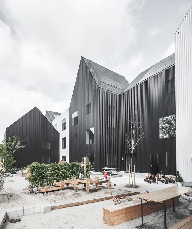 Uma infância a preto e branco (Copenhaga, Dinamarca)