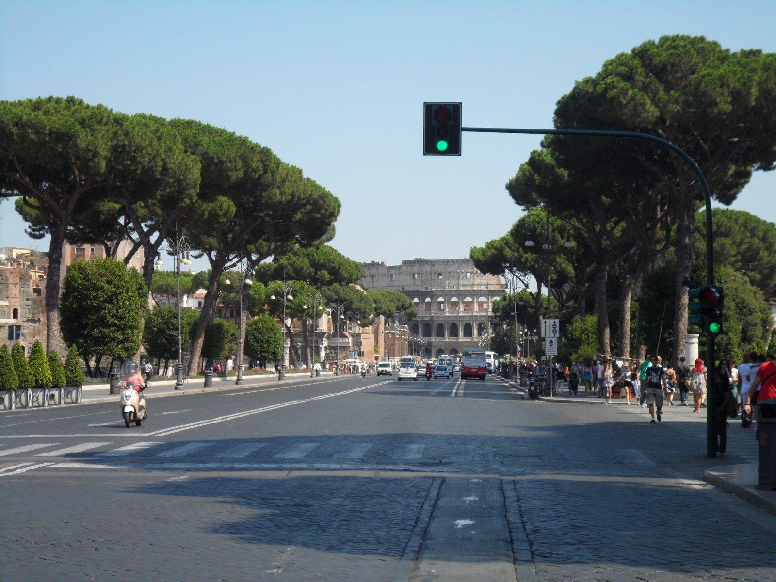 Via Dei Fori Imperiali, Roma (Itália)