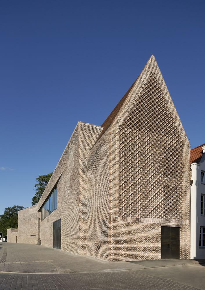 European Hansemuseum EN Lübeck. Alemanha. Studio Andreas Heller GmbH Architects & Designers. @Werner Huthmacher