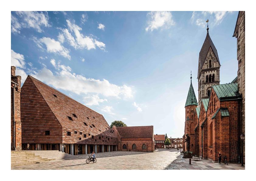 Praça medieval. Ribe, Dinamarca. Lundgaard & Tranberg Architects. @Anders Sune Berg