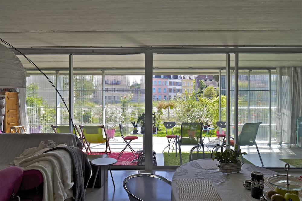 59 casas sociais (Neppert Gardens). Mulhouse, Haut-Rhin, França. Lacaton & Vassal architectes. @Philippe Ruault