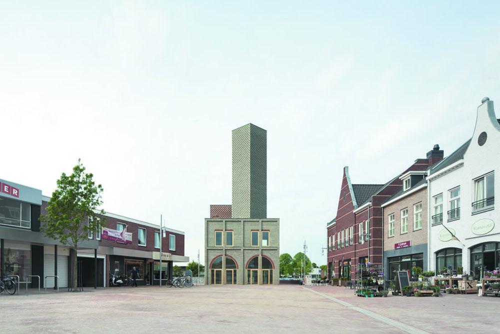 Landmark. Nieuw-Bergen, Holanda. Monadnock. @Stijn Bollaert